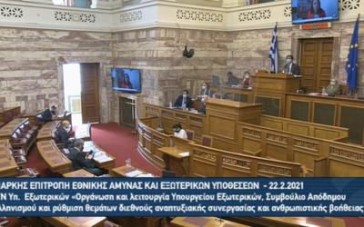 Η Πανελλήνια Ένωση Μεταφραστών στην ακρόαση φορέων για το νέο Σχέδιο Νόμου του Υπουργείου Εξωτερικών